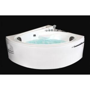 ouest balneo baignoire balneo ouest baln o baignoire asymetrique 165cm x 148cm x 72cm 20 leds. Black Bedroom Furniture Sets. Home Design Ideas