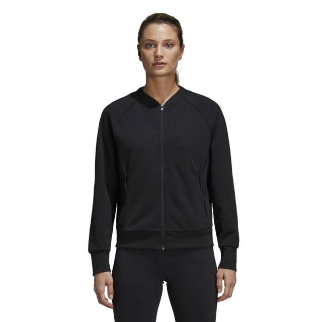 Adidas Bomber femme Id Glory noirgris carbone pas cher