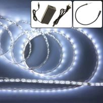 EMATRONIC - Ruban LED 2 mètres 60LEDs/m 3528 - CWF2-35 BLANC