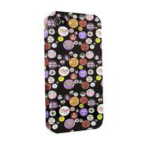 Kothai - Coque Arriere Badges Apple Iphone 4