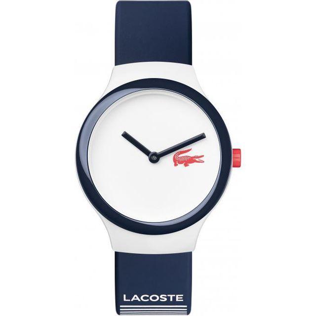 bb23589fc8 Lacoste - Montre 2020122 - Montre Silicone bleu Mixte Achat / Vente ...