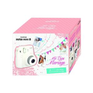 fuji instax mini 8 ma box mariage 70100126008 pas cher achat vente packs r flex num rique. Black Bedroom Furniture Sets. Home Design Ideas