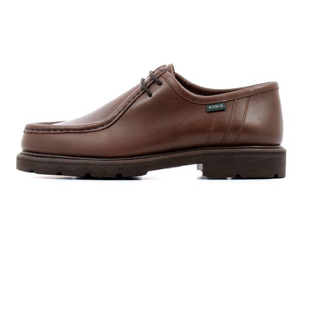 Aigle Chaussures de ville Bourgogne Marron pas cher