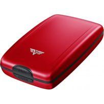 Tru Virtu - Portefeuille Cash&CARDS Rigide porte-cartes monnaie - Red Pepper Rouge