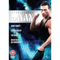 Universal Pictures Uk - Van Damme Collection - No Retreat, No Surrender/THE Quest/HARD Target/SUDDEN Death IMPORT Coffret De 4 Dvd - Edition simple