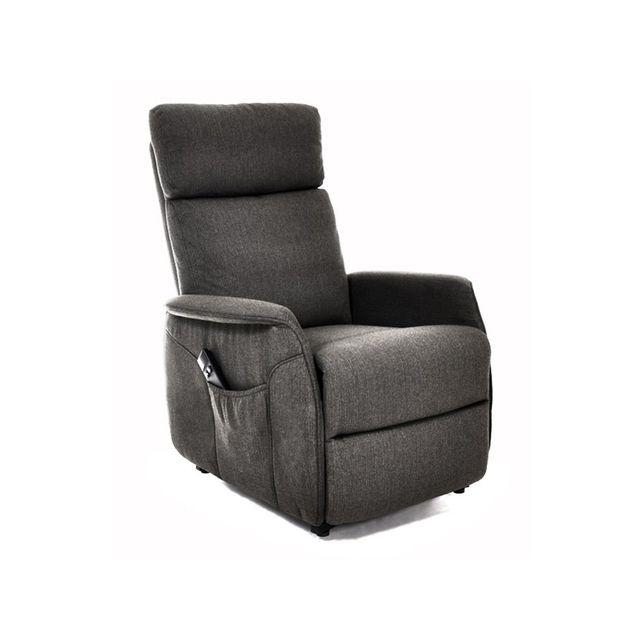 altobuy leven fauteuil releveur anthracite pas cher achat vente fauteuils rueducommerce. Black Bedroom Furniture Sets. Home Design Ideas