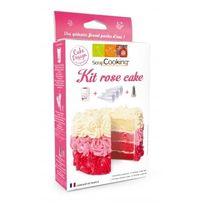 Scrapcooking - Kit rose cake