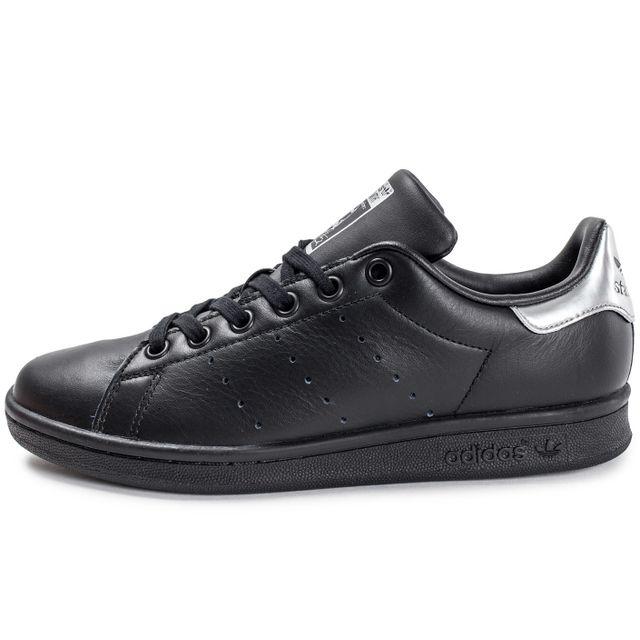 Adidas originals - Stan Smith W Noire Et Argent 36 2/3