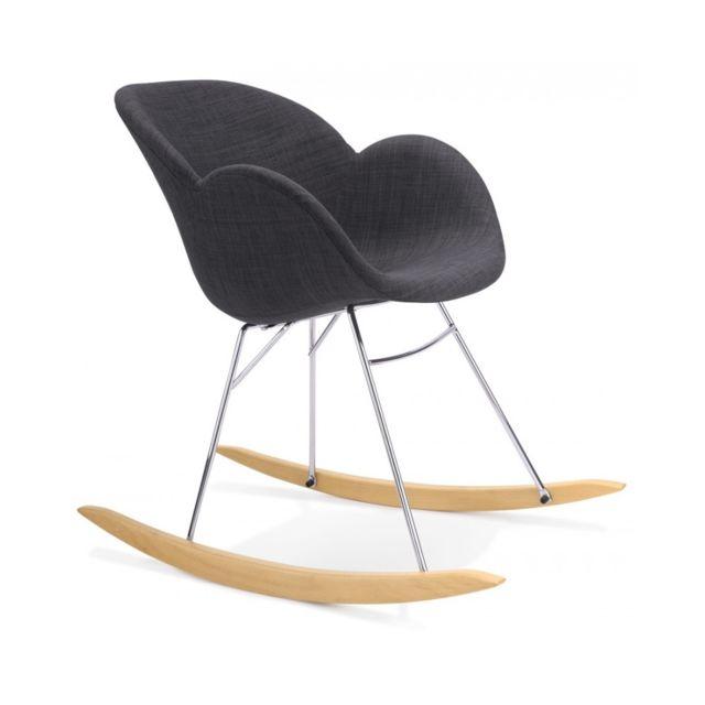 Kokoon Design Fauteuil design Toggle Dark Grey 59x84,5x79 cm