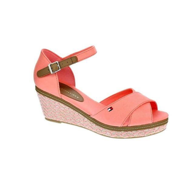 390c0cb1287 Tommy hilfiger - Chaussures Femme Sandales modele Elba - pas cher ...