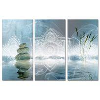 Declina - Tableau triptyque deco zen relaxation - Boutique en ligne