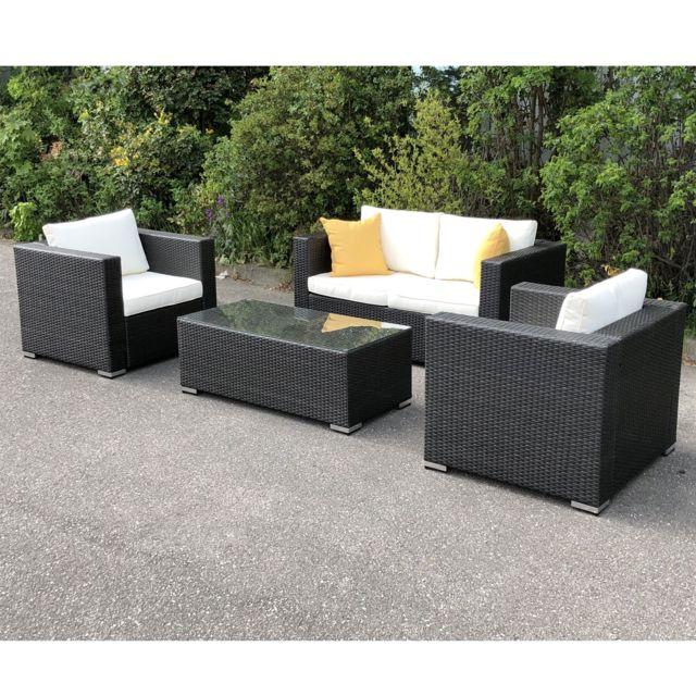 Best Salon De Jardin Resine Tressee Soldes Photos - House ...