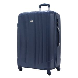 Alistair - Valise Grande Taille 75cm - Airo - Abs Ultra Leger - 4 Roues Bleu