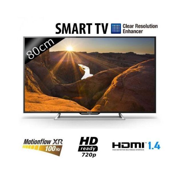 sony kdl32r500c tv led 32 39 39 80cm 100hz mxr smart tv pas cher achat vente tv led de. Black Bedroom Furniture Sets. Home Design Ideas