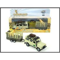 Kids Globe - Land Rover - Set Safari - 52.1723