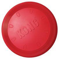Kong - Jouet Flyer en forme de Frisbee pour Chien L