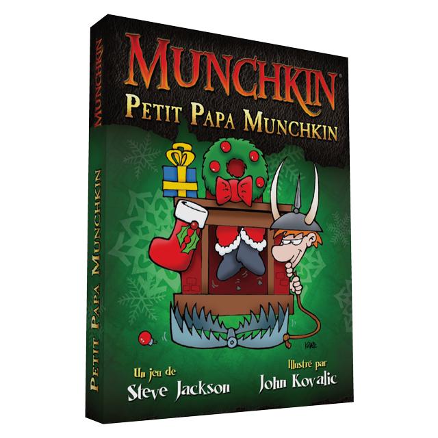 Edge Jeux de société - Munchkin Noël : Petit Papa Munchkin