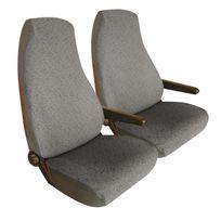 Bancarel - Housses jersey sièges avant grises