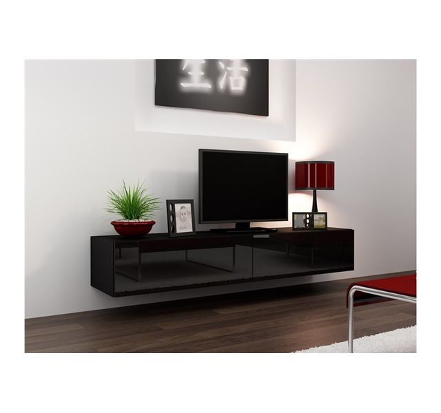 meuble tv suspendu pas cher. Black Bedroom Furniture Sets. Home Design Ideas