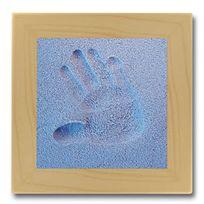 Licofun - Coffret Empreinte Main - Sable bleu
