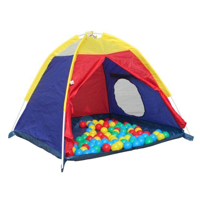 Tente Jouet Avec Balles Plein Assorties Carrefour 50 De Air VqMUpSz