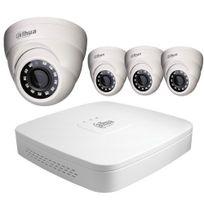 Securitegooddeal - Kit vidéo surveillance Hd Cvi 4 Dômes 1080P