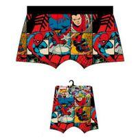 Marvel Comics - Marvel Boxer Homme Coton Spiderman Bd Multicolore