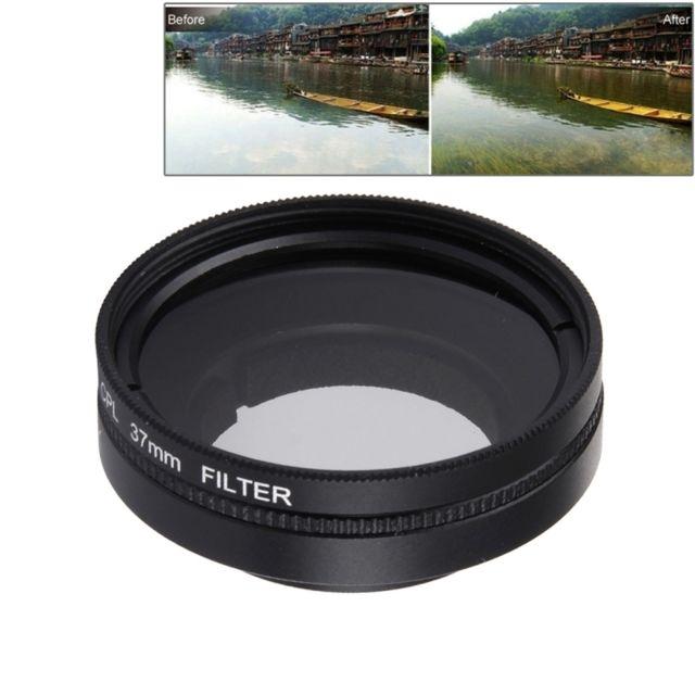 Wewoo - Filtre pour Xiaomi Yi Ii 4K Sport Action Caméra Professionnel 37mm  Cpl + Lentille 184520a5481d