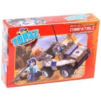 Topaz - Topaze - 20725 - Jeu De Construction - Jeep Militaire - 96 PiÈCES