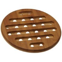 Zeller - dessous de plat en bambou. 20 x 1.5 cm