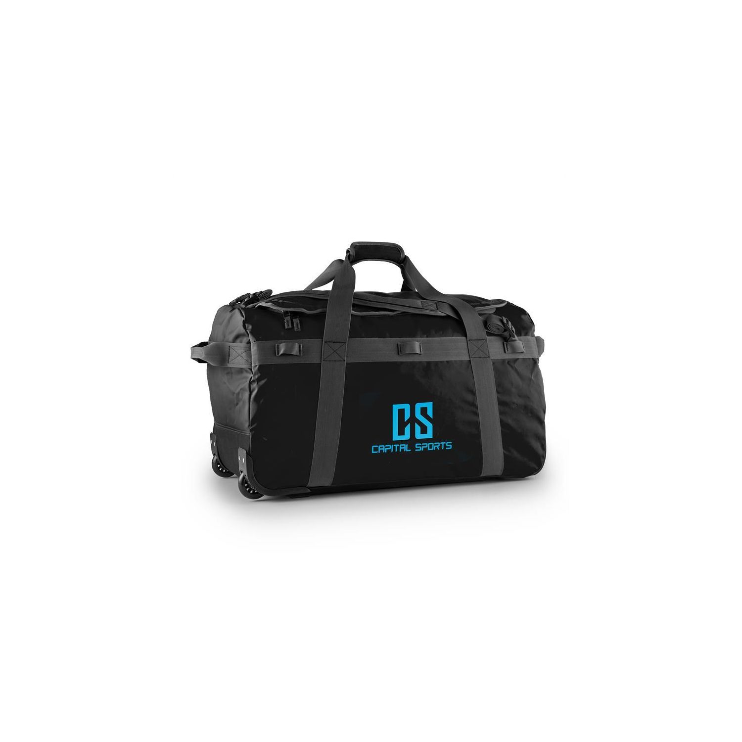 8e94aa4fa3 CAPITAL SPORTS- Journ Sac de sport 90l Sac 脿 dos Trolley impermable -noir