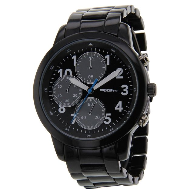 RG512 - Montre Et Bracelet Voir description - Noir