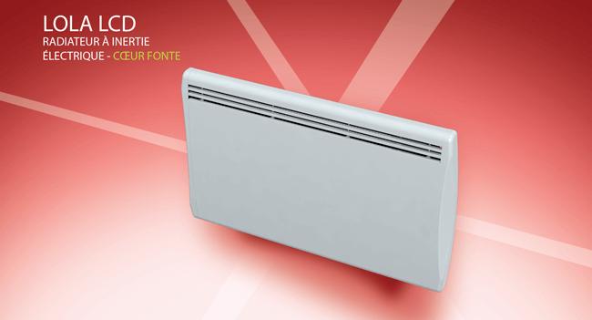carrera radiateur inertie fonte heather v 1000 w pas cher achat vente radiateur. Black Bedroom Furniture Sets. Home Design Ideas