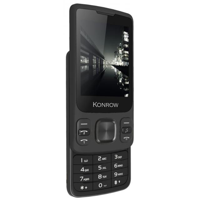 Konrow - Slider - Téléphone Coulissant - Ecran 2.4u0027u0027 - Double ...