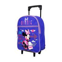 Minnie Et Ses Amies - Sac à roulettes maternelle Little Minnie 31 Cm - Cartable