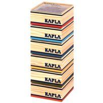 Kapla - carton de 6 coffrets en bois, 240 planchettes