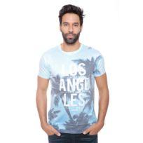 Deeluxe 74 - Tshirt Homme Hacienda Bleu