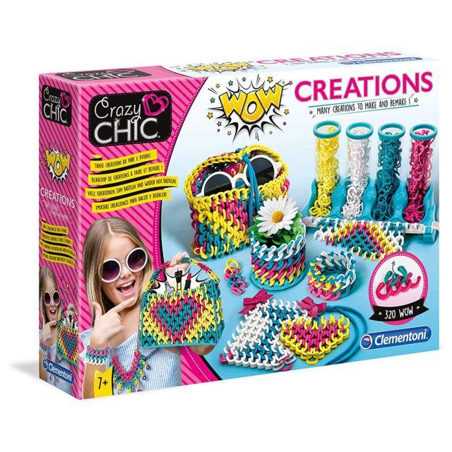 Clementoni Crazy Chic Wow CrÉATION De Bracelets 18540SD