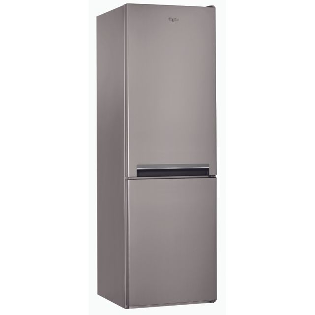 Whirlpool Réfrigérateur congélateur combiné BLFV8001OX Consommation 309 kWh/an, Dégivrage manuel, Volume utile Réfrigérateur 227L/Congélateur 111L, Classe climatique N.T, Niveau sonore 38 dB (A)
