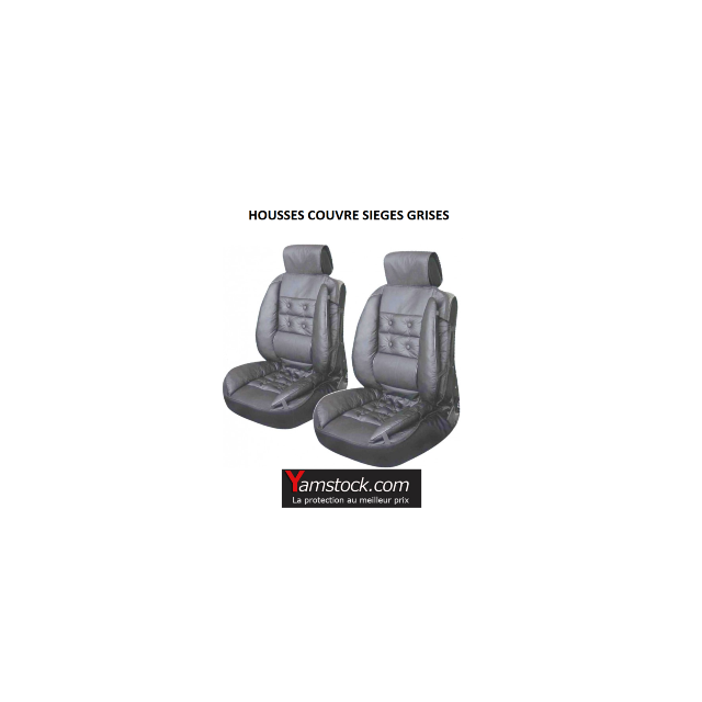 peraline lot de couvre si ge int gral de voiture gris haute qualit pas cher achat vente. Black Bedroom Furniture Sets. Home Design Ideas