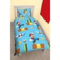 Super Mario - Parure de lit Mario Maker Nintendo