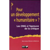 """Ird - pour un développement """"humanitaire"""