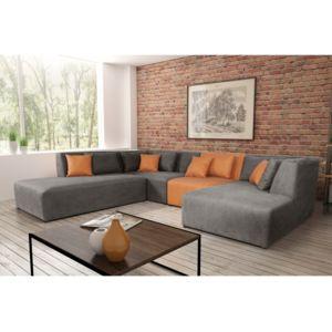 Modern sofa canap neron lchl e80 er140 ottr denim 14 for Salle a manger neron