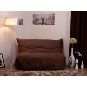 comptoir des toiles housse de bz su dine matelass e 140cm lea chocolat pas cher achat. Black Bedroom Furniture Sets. Home Design Ideas