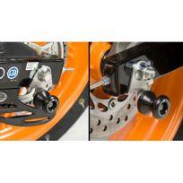 Honda - Cbr 125 R-11/16-PLATINES Diabolos Noir La Paire R&G Racing-443145