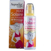 Aquatéal - Huile solaire avec activateur de bronzage Spf 0 Contenance 100 ml