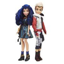 Hasbro - Poupée Disney Descendants : Pack de 2 poupées : Carlos et Evie