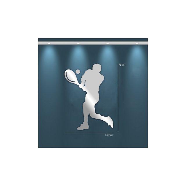 Tm Miroir design joueur de Tennis