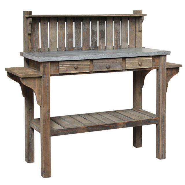 L\'ORIGINALE Deco - Table Console de Rempotage de Jardin en ...