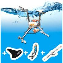 Waterflex - Aquabike Wr5 +selle confort + barre+ gourde+porte gourde
